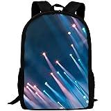 Markui Adult Travel Hiking Laptop Backpack Light Point Photos School Multipurpose Durable Daypacks Zipper Bags Fashion