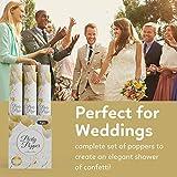 6 Piece Confetti Wedding Popper (12 in) in