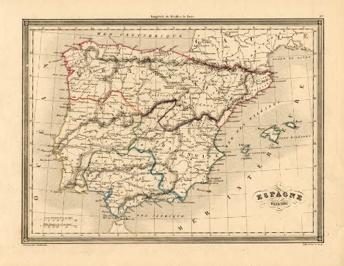 ThePrintsCollector de mapamundi antiguo-Portugal-de la bandera de ...