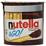 Kyпить Ferrero Nutella & Go Hazelnut Spread  with Breadsticks, 1.8 oz. (12 Count) на Amazon.com