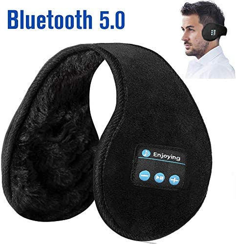 Bluetooth Earmuffs Headphones Foldable Microphone product image