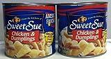 Sweet Sue Chicken & Dumplings 2- 24Oz. Cans