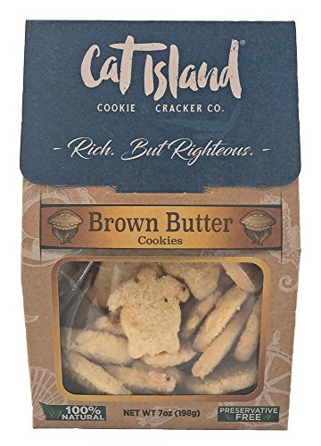 Brown Butter Cookies - 7oz, All natural, preservative free, liberally flecked with the nutty flavor of brown butter