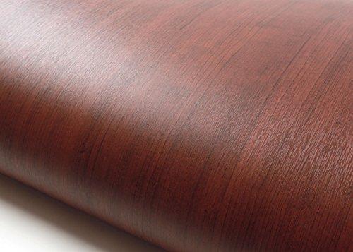 ROSEROSA Peel & Stick Backsplash Embossed Cherry Wood Self-Adhesive Wallpaper Shelf Liner Table Door Reform (PG4010-2 : 1.98 Feet X 6.56 - Adhesive Self Embossed