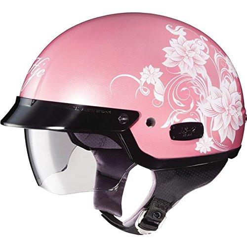 HJC Blossom IS-2 Half (1/2) Shell Motorcycle Helmet - MC-8 / Small 2 Blossom Helmet