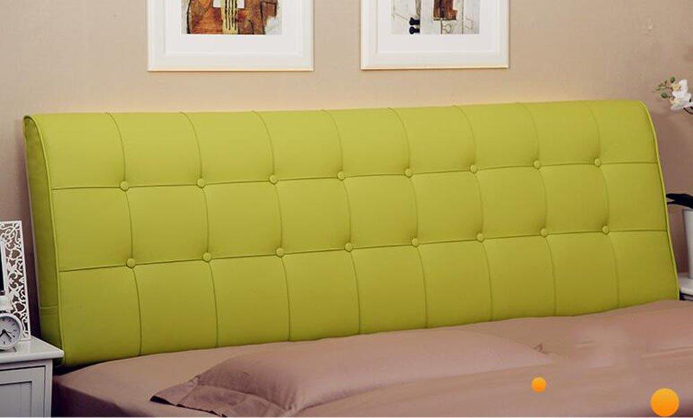 AIDELAI Backrest- Bedside Cushions Bedside Soft Bag Double Bed Leather Bedside Cushions Cushions Large Backrest Bed Cover (Color : A1, Size : 0.9m)