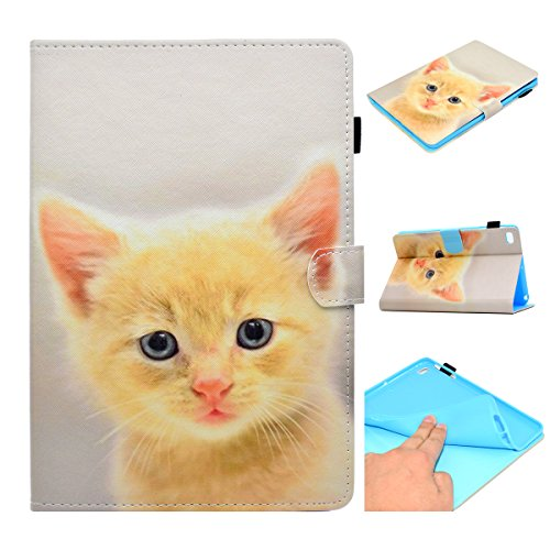 Price comparison product image New iPad 9.7 2018 2017 / iPad Air 2 Case / iPad Air Case,  Augstar Ultra Slim Fit Smart Case with Stand Auto Wake / Sleep Cover for Apple iPad 5th / 6th Generation, Baby Cat