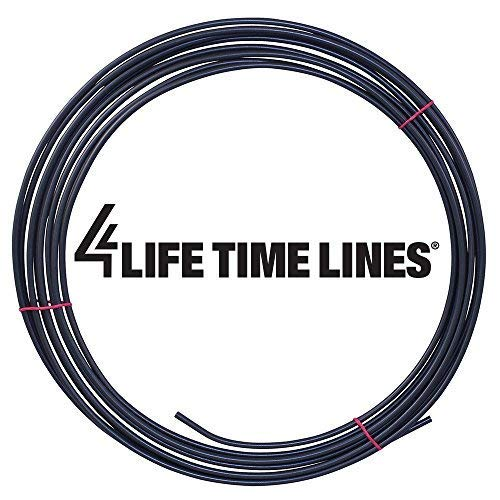 25 ft 3//16 in PVF-Coated/Steel Brake Universal Size Transmission Line Tubing Coil Fuel