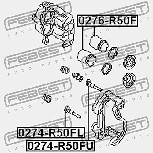 Compass Of Support For Front Brake Guide Febest 0274 R50fu Amazon