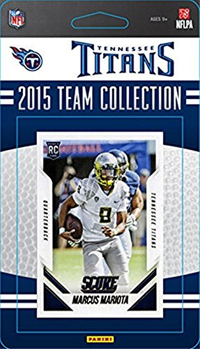 Tennessee Titans 2015 Score Factory sealed 14 Card Limited Edition NFL Team Set Tennessee Titans Set