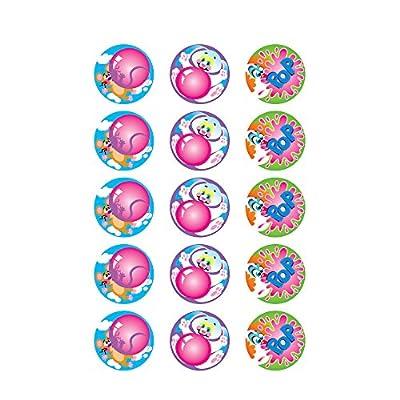 Trend Enterprises Inc. Blowing Bubbles/Bubblegum Stinky Stickers, 60 ct.: Toys & Games