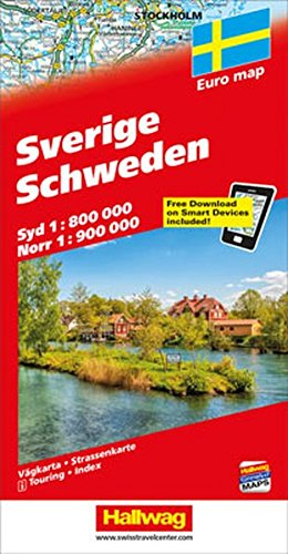 Schweden / Sweden (Euro Map) ()