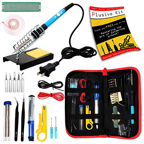 Review Of Soldering Kit - Soldering Iron 60 W Adjustable Temperature, Soldering Iron Stand, Solderin...