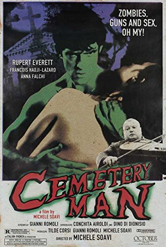 Reproduction of a poster presenting - Cemetery Man 01 - A3 Poster Print Buy Online