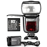 Neewer 2.4G Wireless 1/8000 HSS TTL Master Slave Flash Speedlite with 2000mAh Li-ion Battery for Sony A77II A7RII A7R A58 A99 A6000 Camera with New Mi Shoe NW860IIS