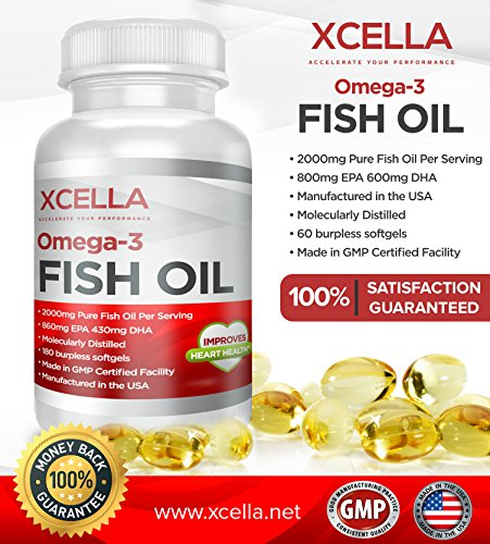 Supplements essential fatty acids xcellas omega 3 fish oil for Omega 3 fatty acid fish