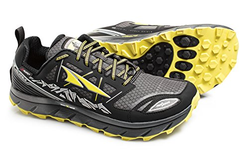 Altra Lone Peak 3.0 Low Neo Trail Running Shoe - Men's Black/Yellow