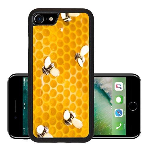 Luxlady Premium Apple iPhone 7 Aluminum Backplate Bumper Snap Case iPhone7 IMAGE ID: 20148800 White chocolate lemon honey tart on a white background Almond Apple Tart
