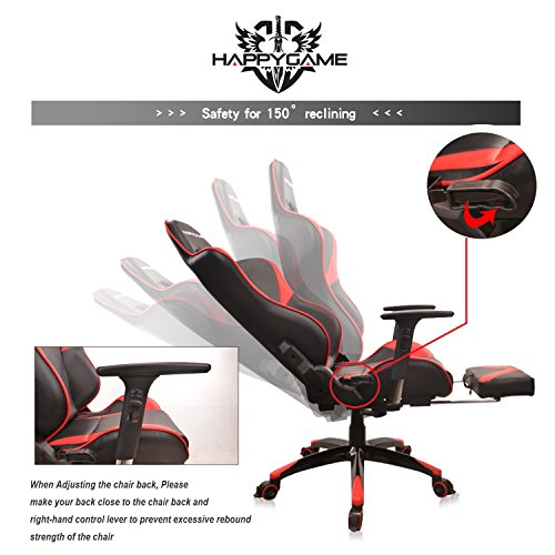 Happygame Heavy Duty Multifunctional Office Chair Designed