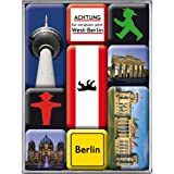 Nostalgic-Art 83011 Ampelmann - Berlin Ampelmann, Magnet-Set (9teilig)