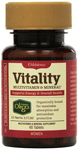 Melaleuca vitalidad multivitamínico y Mineral para las mujeres, 60 tabletas (un mes de suministro) soportes de energía y la salud en general