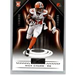2018 Panini Playbook  119 Nick Chubb Rookie RC Rookie Cleveland Browns NFL. 670059f38