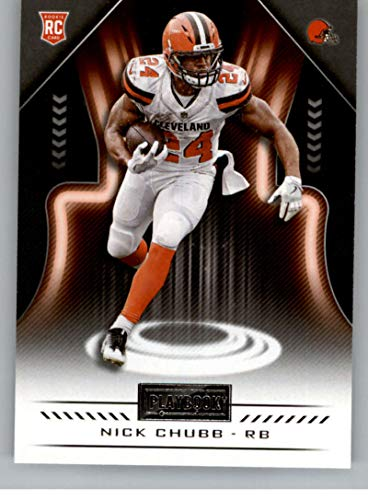 2018 Panini Playbook #119 Nick Chubb Rookie RC Rookie Cleveland Browns NFL Football Trading - Rookie Nfl Brown Football