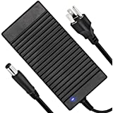Dell Alienware Charger, 180W Laptop Charger Power Supply Adapter 19.5V 9.23A Compatible Dell Alienware M17X/M15X/M14X 17 R3/15 R3/15 R2/X51 R2/13/14, Dell Precision M4600/M4700/M4800/M6400 (180W-3-1)