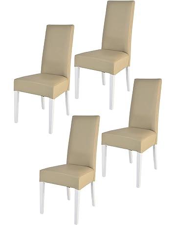 Tommychairs sillas de Elegancia y Design - Set de 2 Sillas Luisa para Cocina, Comedor