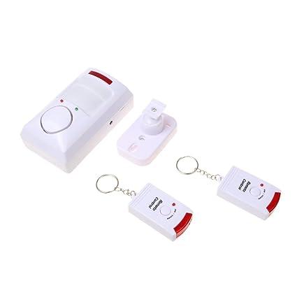 Homyl Juego de Alarma de PIR Sensor Movimiento