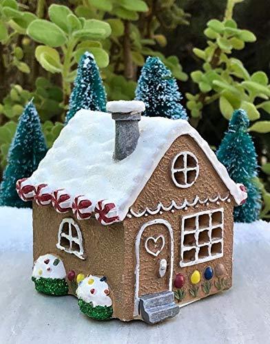 Mini Christmas Light Up Gingerbread House