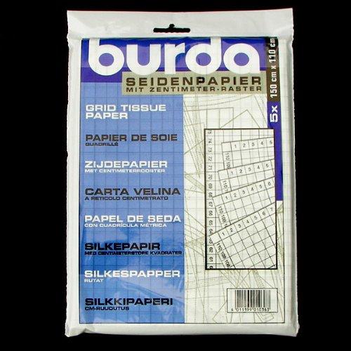 Seidenpapier, Zentimeterraster