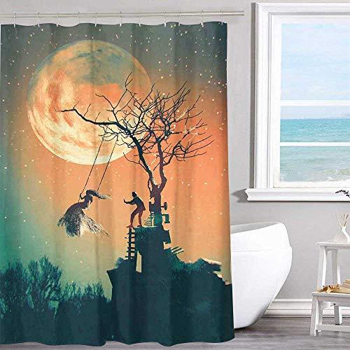 MKOK Pattern Shower Curtain 70