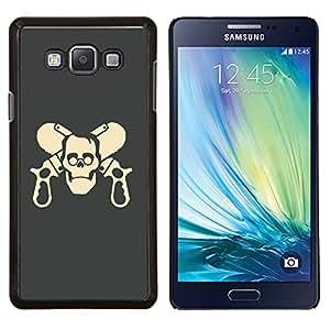 EJOOY---Cubierta de la caja de protección para la piel dura ** Samsung Galaxy A7 A7000 ** --Cráneo divertido Armas