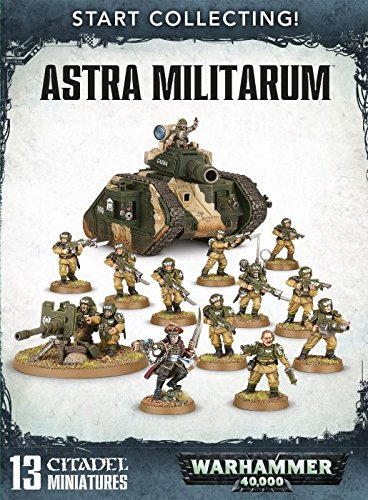 Start Collecting! Astra Militarum Warhammer 40,000 by Games Workshop (40k Imperial Guard Warhammer)