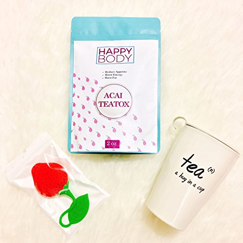 Happy-Body-Acai-Teatox-Detox-Tea-Slimming-Tea-for-Natural-Healthy-Weight-Loss-Herbal-Powder-Appetite-Suppressant-Helps-Reduce-Gas-Bloating-Increases-Energy-Metabolism-Levels
