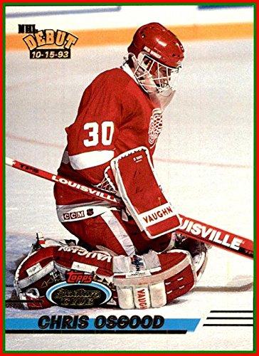1993-94 Stadium Club #350 Chris Osgood RC ROOKIE Goaltender DETROIT RED WINGS