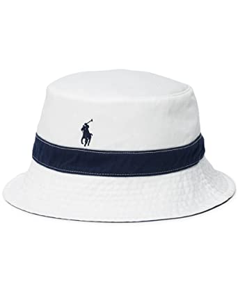 6eec4d63492b Polo Ralph Lauren Men`s Reversible Bucket Hat at Amazon Men s Clothing store