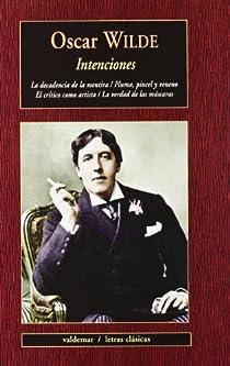 Intenciones par Wilde