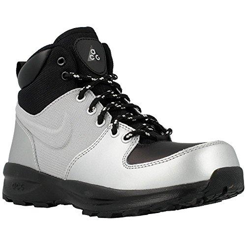 Nike - Manoa Lth GS - Color: Argento-Nero - Size: 35.5
