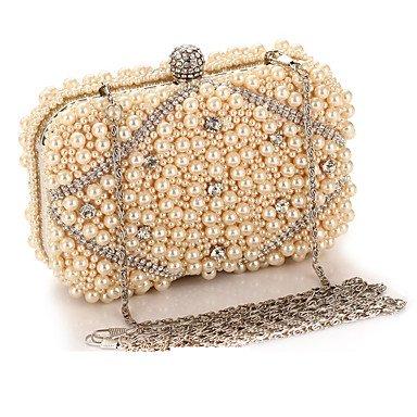 sac de artificielles des L'oxydation perles zircon soirée de Black mode femme g6BnXqw