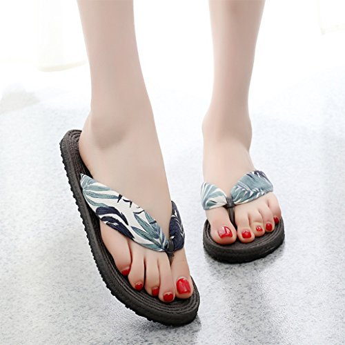 Sandals Slippers Ms Summer Clip Toe Flat Shoes Fashion Non-Slip Rubber Sole 2 G54Nl876PY