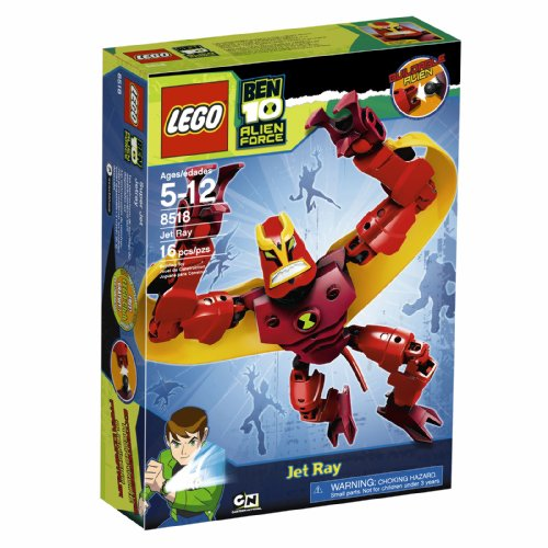 LEGO Ben Alien Force Jet