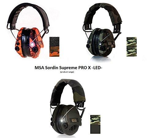 MSA-Sordin-Supreme-PRO-X-with-LED-Light-Electronic-Shooting-Earmuffs