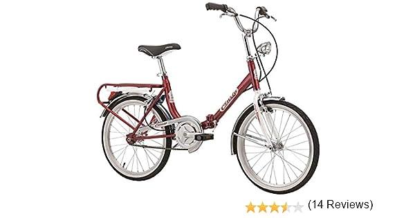 Cicli Cinzia Firenze - Bicicleta plegable, cuadro de acero, ruedas ...