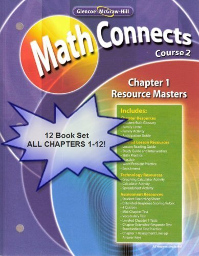 Glencoe McGraw Hill Math Connects Concepts Skills And