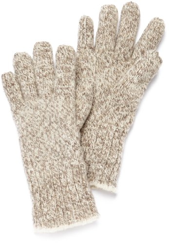 (FoxRiver Men's Three Layer Glove, Brown Tweed, Large)