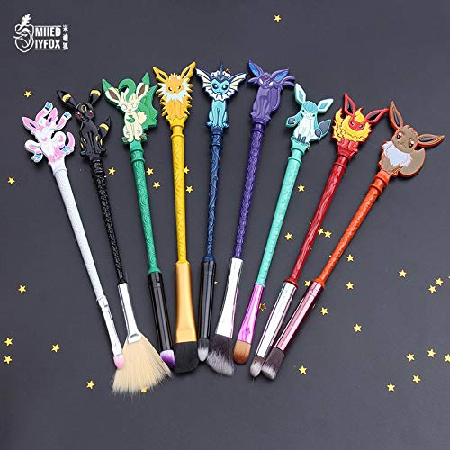 Makeup Brushes Set | Cosmetic Brush | Cute Design/Lovely Animals/Eyeshadow/Concealer/Lip | for Gift