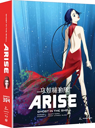 Ghost in the Shell: Arise - Borders 3 & 4 - Border Anime