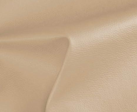 0,50 Metros de Polipiel para tapizar, Manualidades, Cojines o forrar Objetos. Venta de Polipiel por Metros. Diseño Solar Color Beige Ancho 140cm